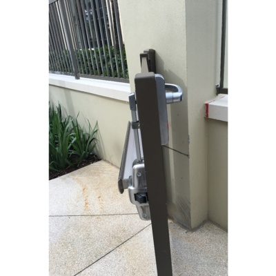 Special Order Pool Gate Exit Device