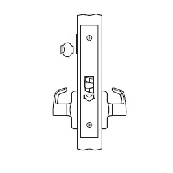Electrified Mortise Lock Body