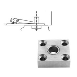 Rixson 340-SPLO-102 Special Layout Center Hung Top Pivot - Pivots, Pivot Sets and Patch Fittings