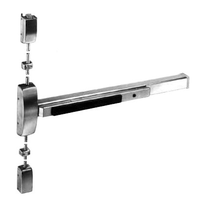 Sargent 8713-F-ETL-RHR-32D-36-84 Special Order SURFACE VERTICAL ROD EXIT DEVICE with Lever Trim - Special Orders