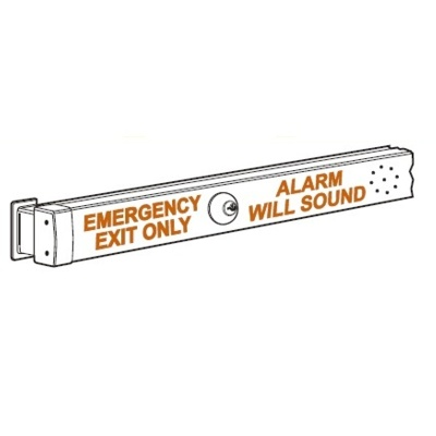 Adams Rite 8800-Alarm Special Order Narrow Stile Rim Exit Device with Alarm - Special Orders image 2