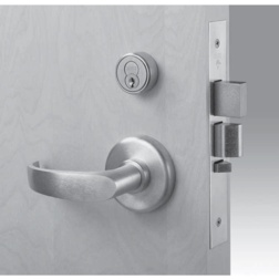 Office Function with Deadbolt Complete Mortise Lock with Lever and Rose