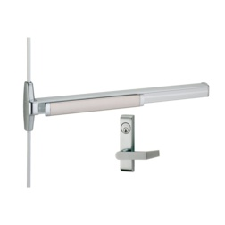 Von Duprin 3327A-L Narrow Stile Surface Mounted Vertical Rod Device with Lever - Von Duprin 33A Series Narrow Stile Vertical Rod Exit Devices
