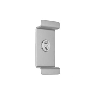 Precision Hardware 603 Night Latch Pull with Cylinder for Reliant 5000 Series Exit Devices - Exit Device Locks