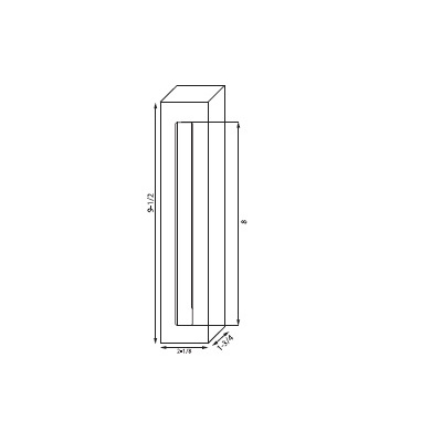 Detex 08GSN Special Order Spacer for Narrow Lever Trim - Special Orders