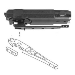 Rixson SL608-Complete Center Hung Overhead Closer - Complete Overhead Closers