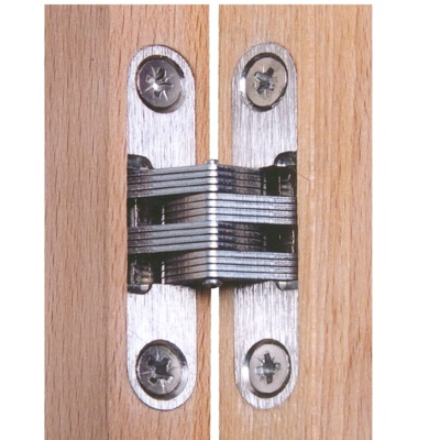 Heavy Duty 4-5/8 inch Invisible Hinge Wood Or Metal Application