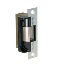 Electric Strike for Wood or Hollow Steel Jambs with 3/4  Mortise or Cylindrical Latches .