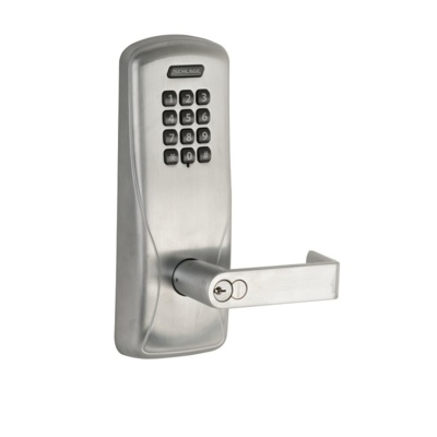 Schlage CO100-CY-70-KP-RHO-626 Electronic Digital Pushbutton Lock - Keyless Door Locks