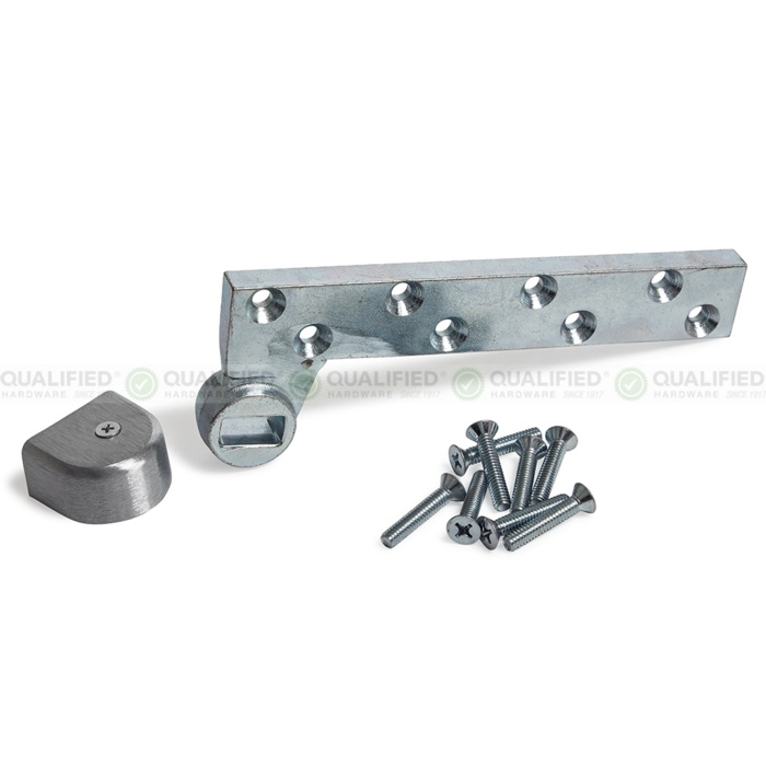 Dorma 75343 3/4 Offset Bottom Arm for Lead-Lined 1-3/4 Doors - Arm Packages image 2