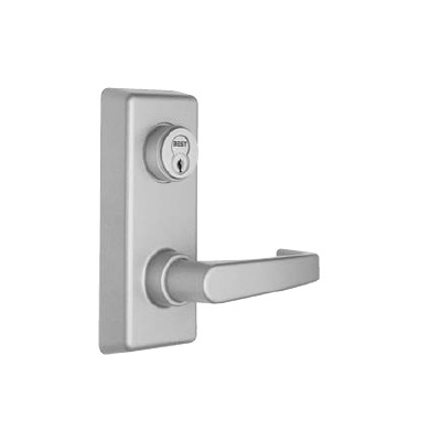 Reliant Fire Rated Rim Exit Device with Keyed Lever Trim