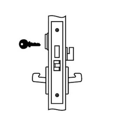 Yale 8822FL-626 Dormitory Mortise Lock Body - Mortise Lock Bodies