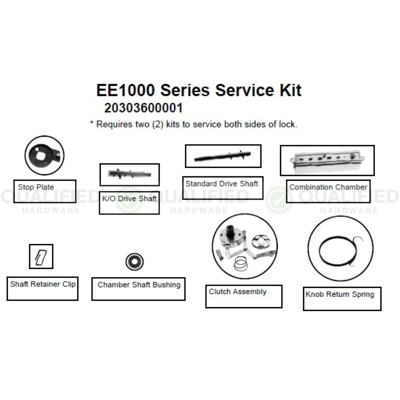 Kaba Access Control 203036-000-01 Special Order Service Kit for Simplex EE1000 - Special Orders