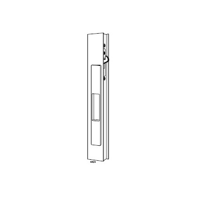 Adams Rite 4430-10-08-00-IB Special Order Sliding Door Flush Lock Less Cylinder - Special Orders image 2