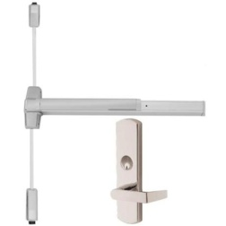 Von Duprin 9927L Surface Mounted Vertical Rod Device with Lever Trim - Von Duprin 99 Series Vertical Rod Exit Devices