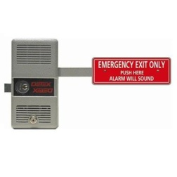Detex Alarmed Panic Exit Device