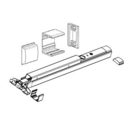 Detex NSK Narrow Stile Door Kit for V40 Exit Device - Parts, Power Supplies and Accessories