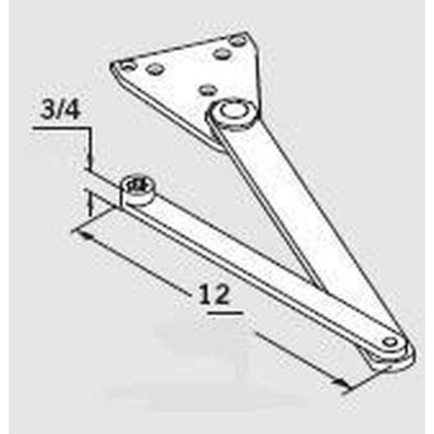 Dorma MOD-SPA Super Parallel Arm - Closer Arms image 3