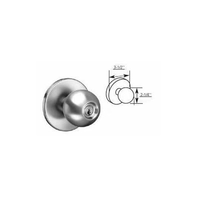 Corbin Russwin G1055 Global Classroom Function Knob Trim for ED8000 Exit Device - Exit Device Trim