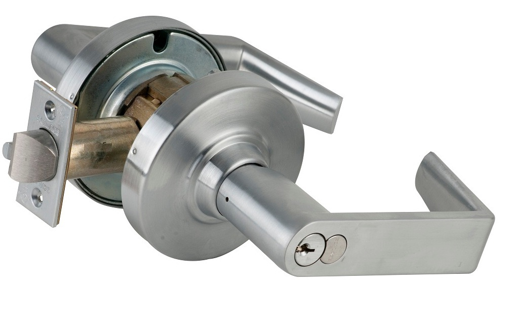 Schlage ND80BD Heavy Duty Small format Interchangeable Core Storeroom Lock - Schlage ND Heavy Duty Lever Locks