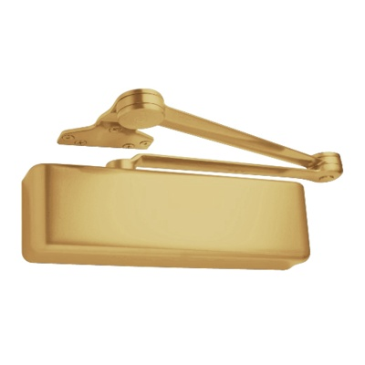LCN 4040XP-Rw/PA-US3 XP Heavy Duty Door Closer with Polished Brass Finish - Complete Surface Closers