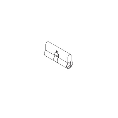 Dorma 901-003-700 Special Order Profile Key Cylinder for Studio and Junior Levers - Special Orders