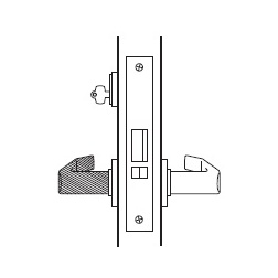 Storeroom Function Mortise Lock Body