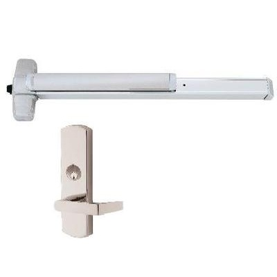 Von Duprin EL-HH-99L-NL-3FT Special Order Rim Exit Device with Electric Latch Retraction and Night Latch Lever Trim - Special Orders