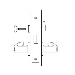 Privacy Function Mortise Lock Body
