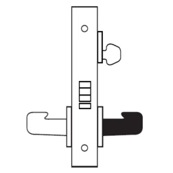 Storeroom Mortise Lock Body