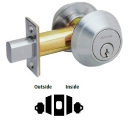 Heavy Duty Double Cylinder Deadbolt