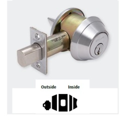 Heavy Duty Single Cylinder Deadbolt