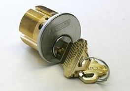 Schlage mortise cylinder Satin Chrome finish(30-001-118) + $47.00